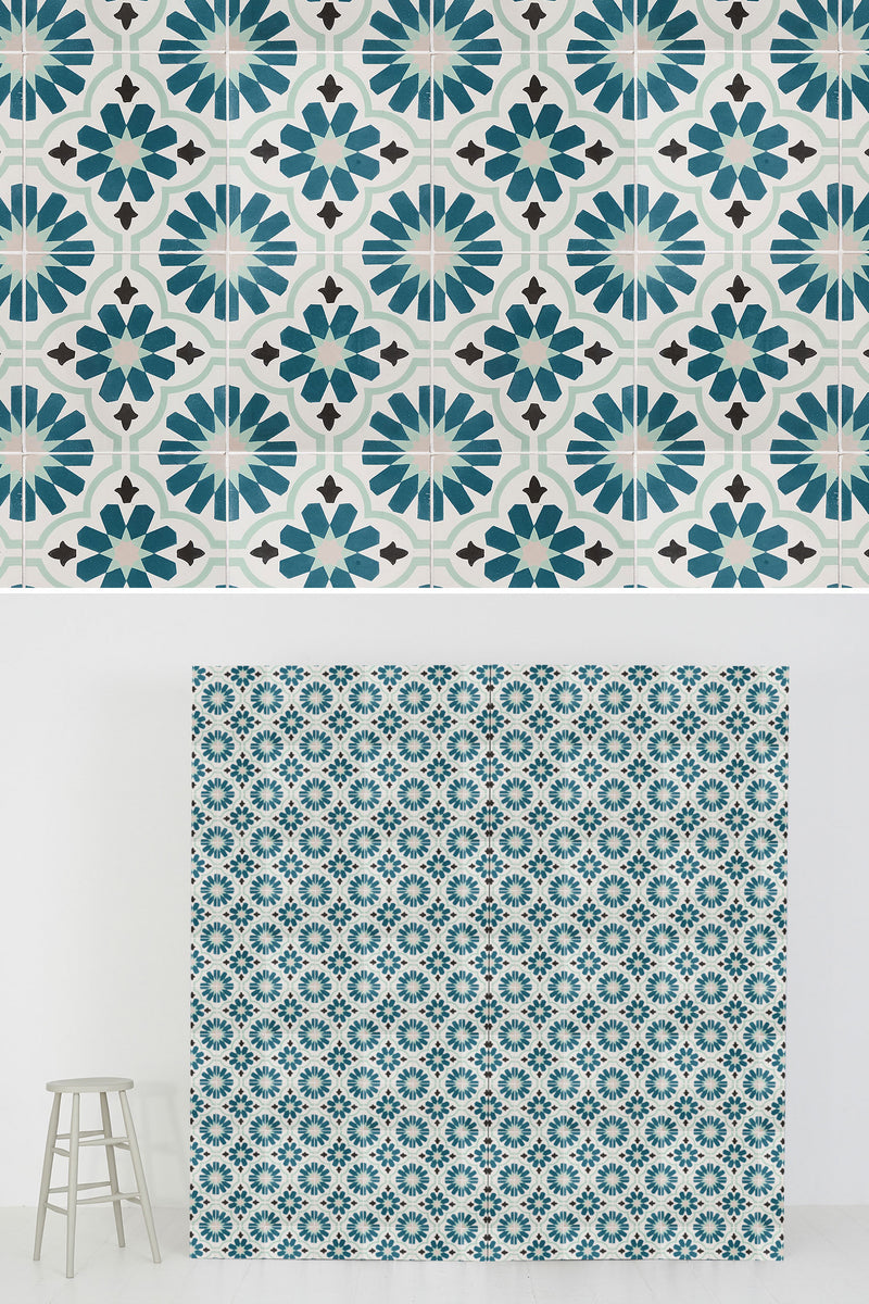#322 Tile | Teal - SetSurfaces