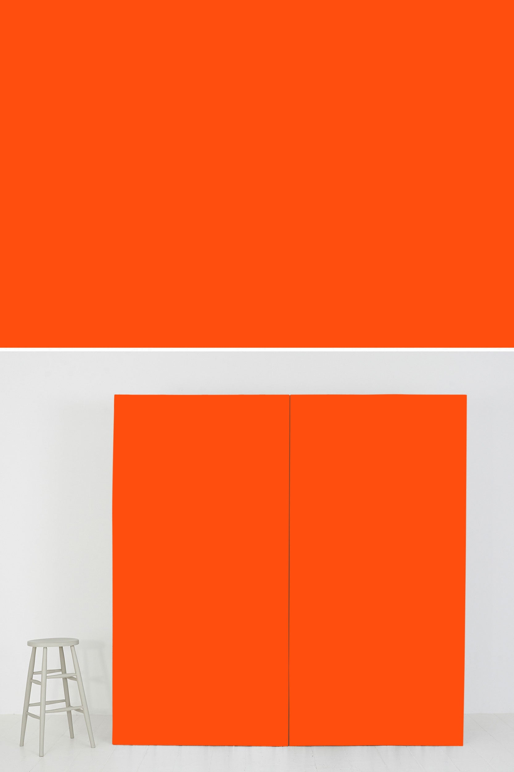 Block Colour #400 Neon - Orange - SetSurfaces