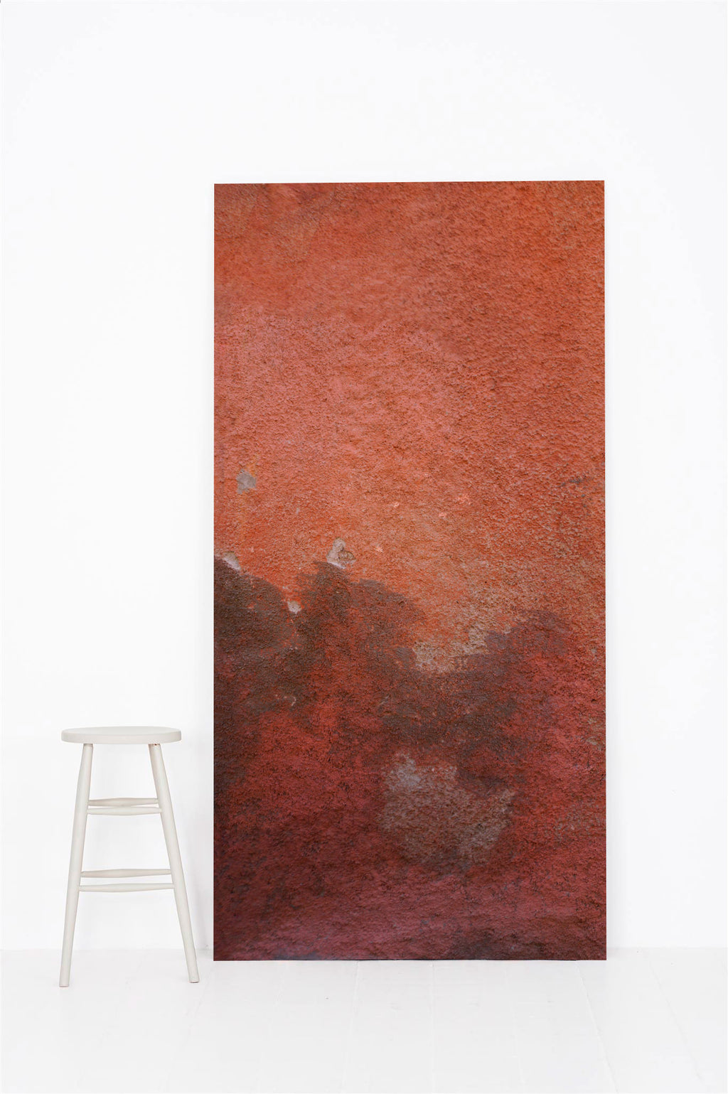 #0000 | Plaster | Two Peach Pink Walls