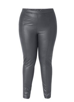 X-Two Black Women's Plus Size Brenna Legging - 25420