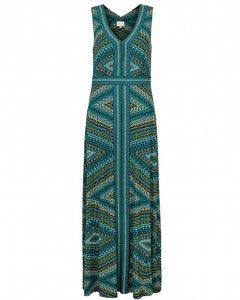 EAST-SAVANNAH PRINT MAXI DRESS