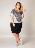 Yesta Women's Plus Size Britta Top - A26106A