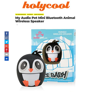 Holycool gives My Audio Pet speakers a great review!