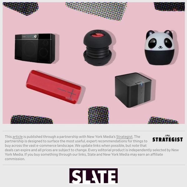 SLATE says My Audio Pet speakers are the best cute portable speaker for on the go