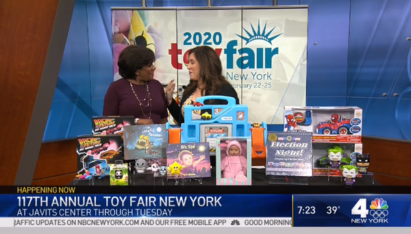 117th Annual Toy Fair Happening at Javits Center