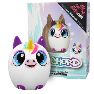 My Audio Pet UniChord Wireless Bluetooth Speaker with True Wireless Stereo Magical Unicorn with waterfall and magical starlight fairytale box