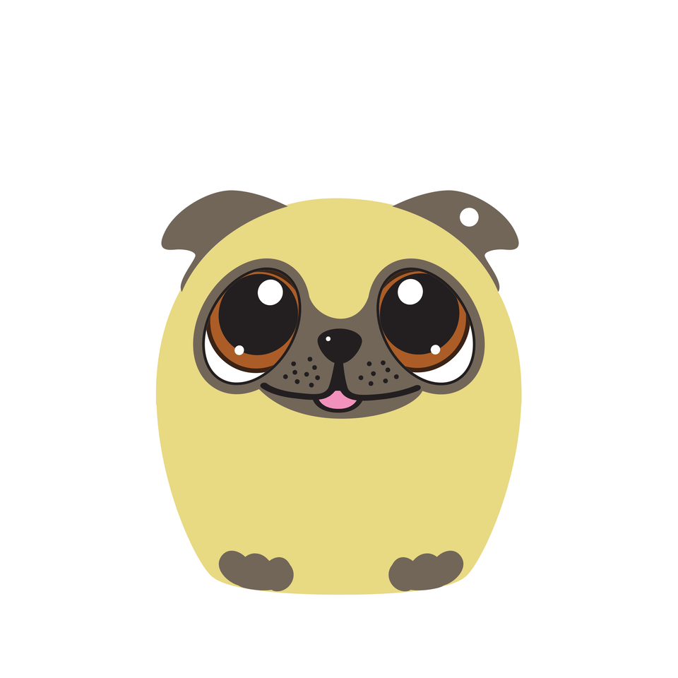 5.0 Power Pup the Pug Puppy