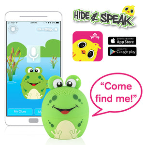 My Audio Pet AMPEDphibian Wireless Bluetooth Speaker with True Wireless Stereo Hide & Speak App available iTunes Google Play