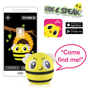 My Audio Pet BumbleBeat Wireless Bluetooth Speaker with True Wireless Stereo Hide & Speak App available iTunes Google Play