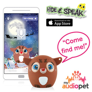 My Audio Pet Dancer Wireless Bluetooth Speaker with True Wireless Stereo Hide & Speak App available iTunes Google Play