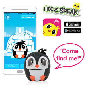 My Audio Pet Ice Ice Baby Wireless Bluetooth Speaker with True Wireless Stereo Hide & Speak App available iTunes Google Play