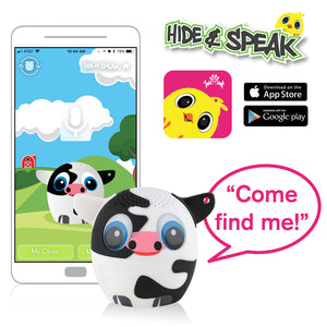 My Audio Pet Moozart Wireless Bluetooth Speaker with True Wireless Stereo Hide & Speak App available iTunes Google Play