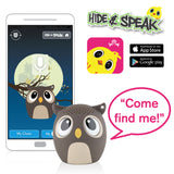 My Audio Pet OWLcapella Wireless Bluetooth Speaker with True Wireless Stereo Hide & Speak App available iTunes Google Play