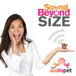 My Audio Pet Dancer Wireless Bluetooth Speaker with True Wireless Stereo Sound Beyond Size So Small So Powerful