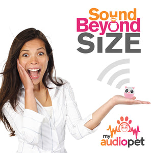 My Audio Pet Party Pig Wireless Bluetooth Speaker with True Wireless Stereo Sound Beyond Size So Small So Powerful