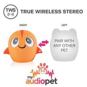 My Audio Pet GoldieRocks Wireless Bluetooth Speaker with True Wireless Stereo Pair with any other MyAudioPet