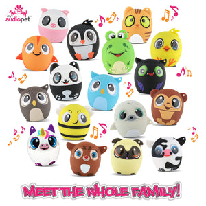 My Audio Pet Wireless Bluetooth Speakers with True Wireless Stereo A Family of Cuteness