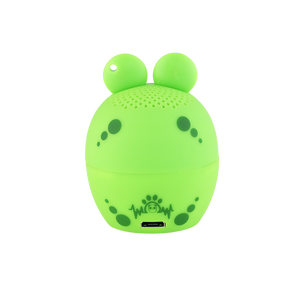 My Audio Pet AMPEDphibian Wireless Bluetooth Speaker with True Wireless Stereo Frog with brand logo on back side