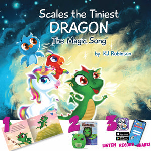 My Audio Stories Bundle: Scales the Tiniest Dragon: The Magic Song