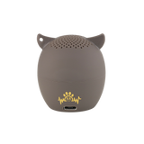 My Audio Pet OWLcapella Wireless Bluetooth Speaker with True Wireless Stereo Brown Owl showing the authentic brand mark on the rear