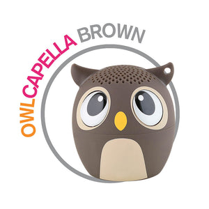 brown owl animal speaker