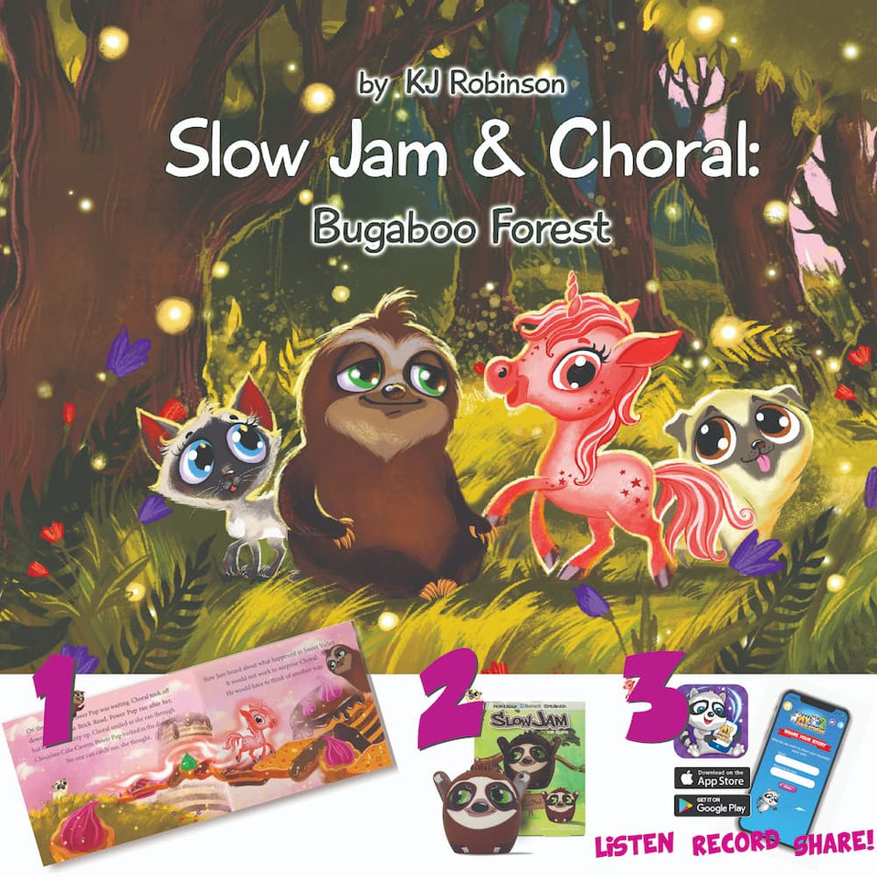 My Audio Stories: The Forest of Bugaboo with Slow Jam Kit