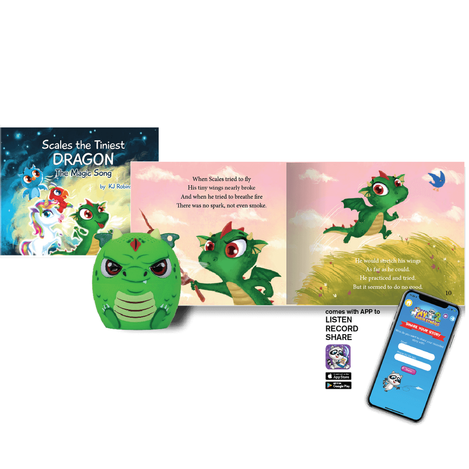 My Audio Stories: Scales the Tiniest Dragon: The Magic Song Kit