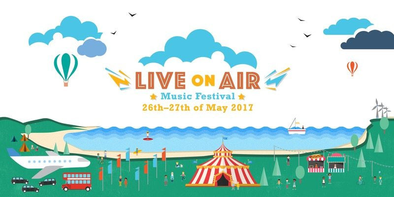 Festival Season kicks off with Live On Air 2017