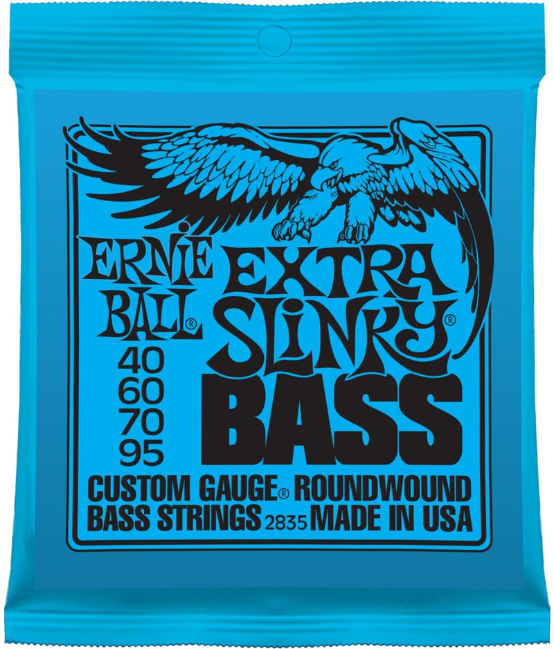 Ernie Ball 2835 Extra Slinky Bass Guitar Strings (40-95)