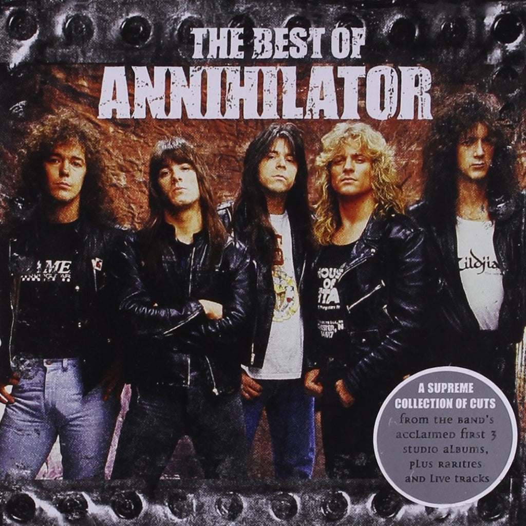 Annihilator - The Best Of CD