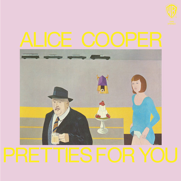 Alice Cooper - Prettiest For You LP Pink Coloured Vinyl