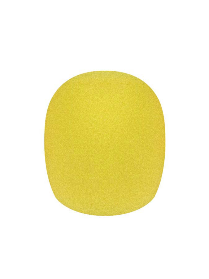 Boston WS-10-YE Balltype Microphone Wind Screen (Yellow)