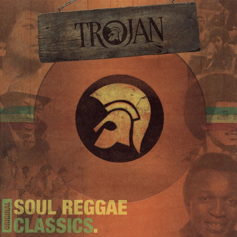 Various ‎Artists - Trojan Original Soul Reggae Classics LP