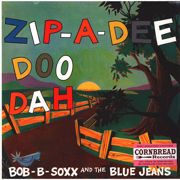 Bob-B-Sox And The Blue Jeans - Zip-A-Dee Doo Dah LP