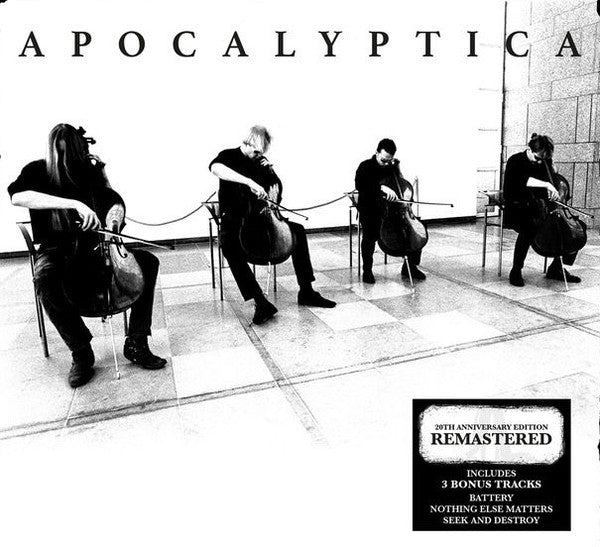 Apocalyptica - Plays Metallica By Four Cellos 2LP