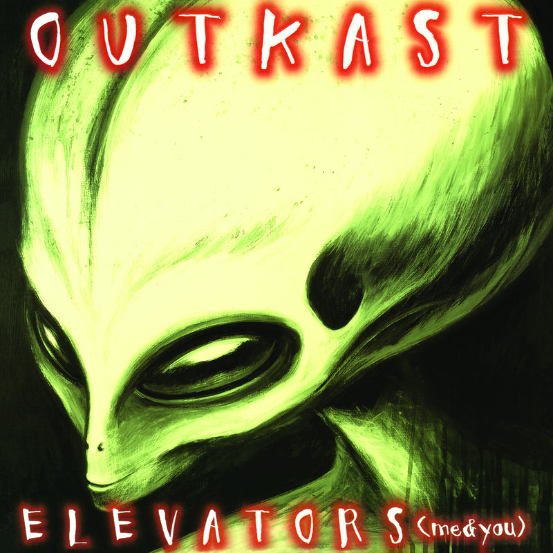 "Outkast - Elevators (Glow In The Dark Vinyl) 10"" LP"
