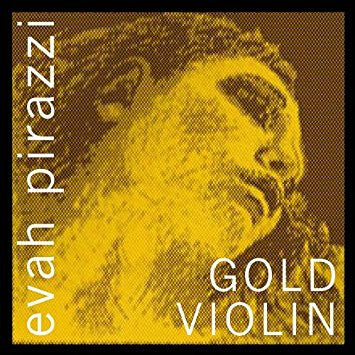 Pirastro 415421 Evah Pirazzi Gold Medium Ball End Gold Violin G String