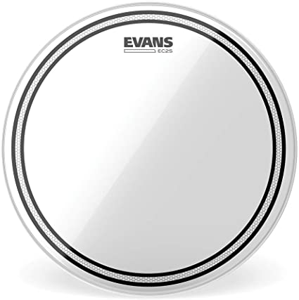 "Evans 12"" Clear Tom EC2S"