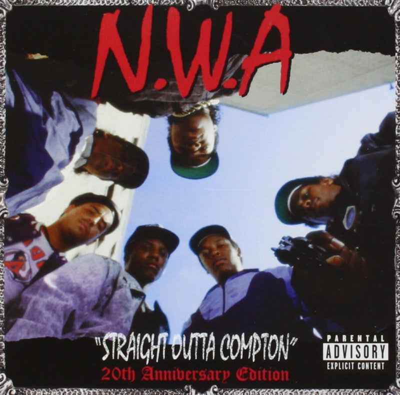 N.W.A - Straight Outta Compton (20th Anniversary Edition) CD