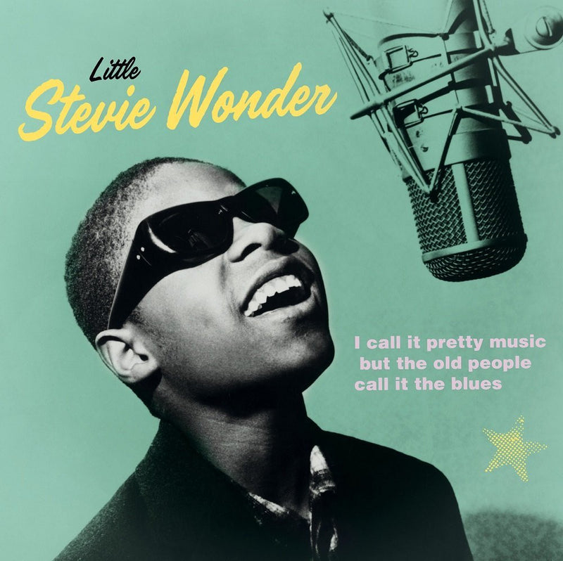 Stevie Wonder ‎- I Call It Pretty Music, But The Old People Call It The Blues LP