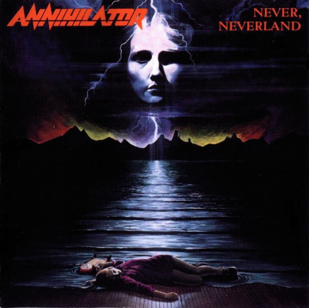 Annihilator - Never, Neverland CD