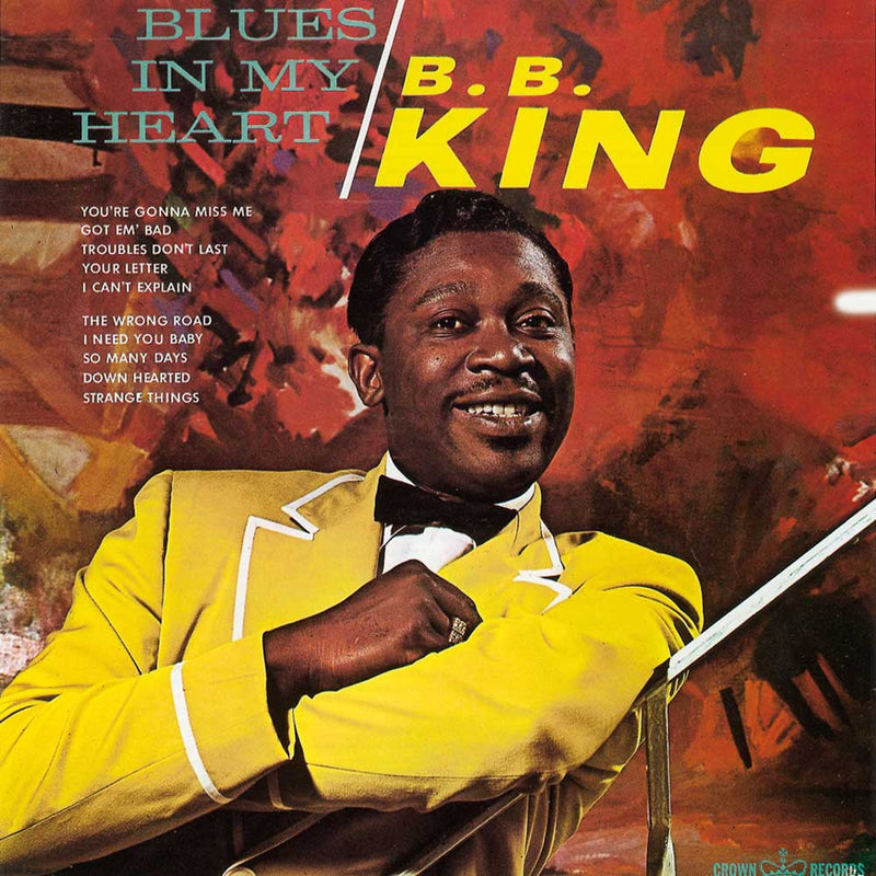 BB King - Blues In My Heart LP