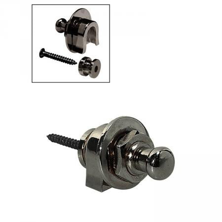 Boston BSL-20-BC Straplocks (Black Chrome)
