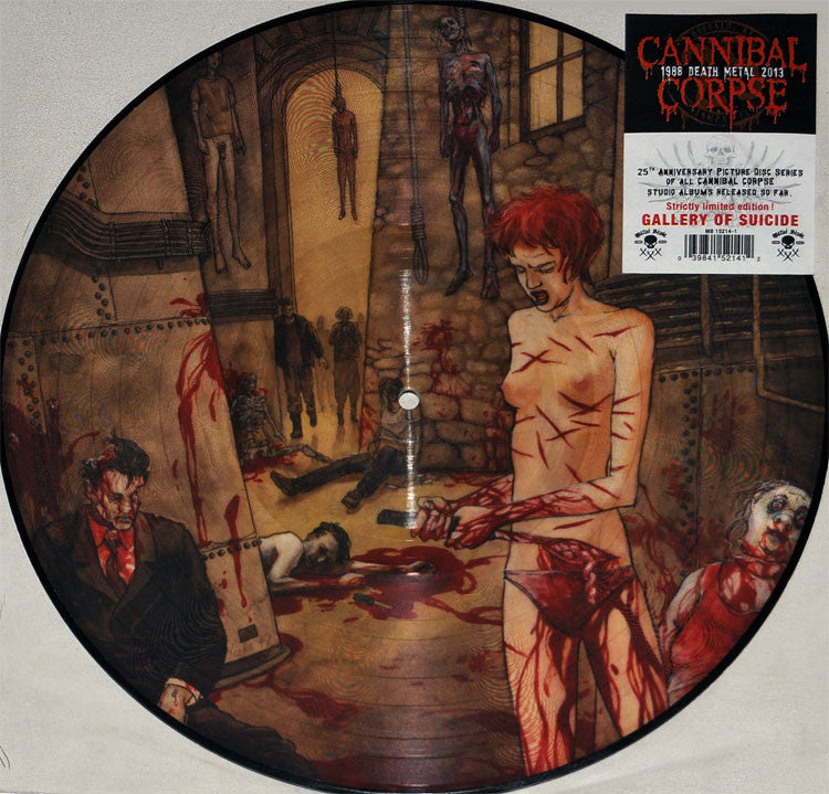Cannibal Corpse - Gallery Of Suicide LP Picture Disc