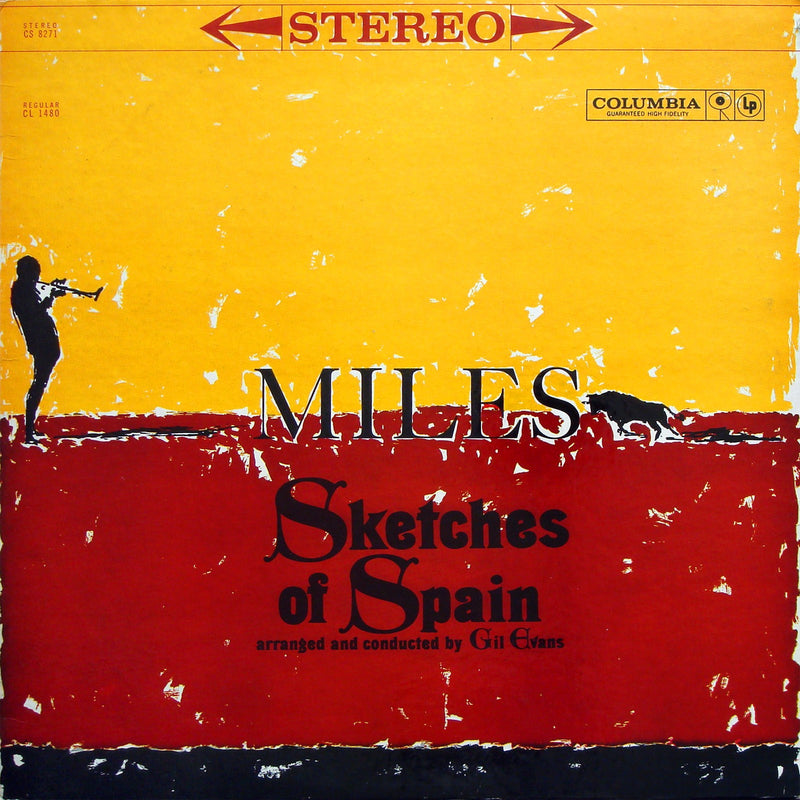 Miles Davis - Sketches Of Spain (Limited Yellow Vinyl) LP