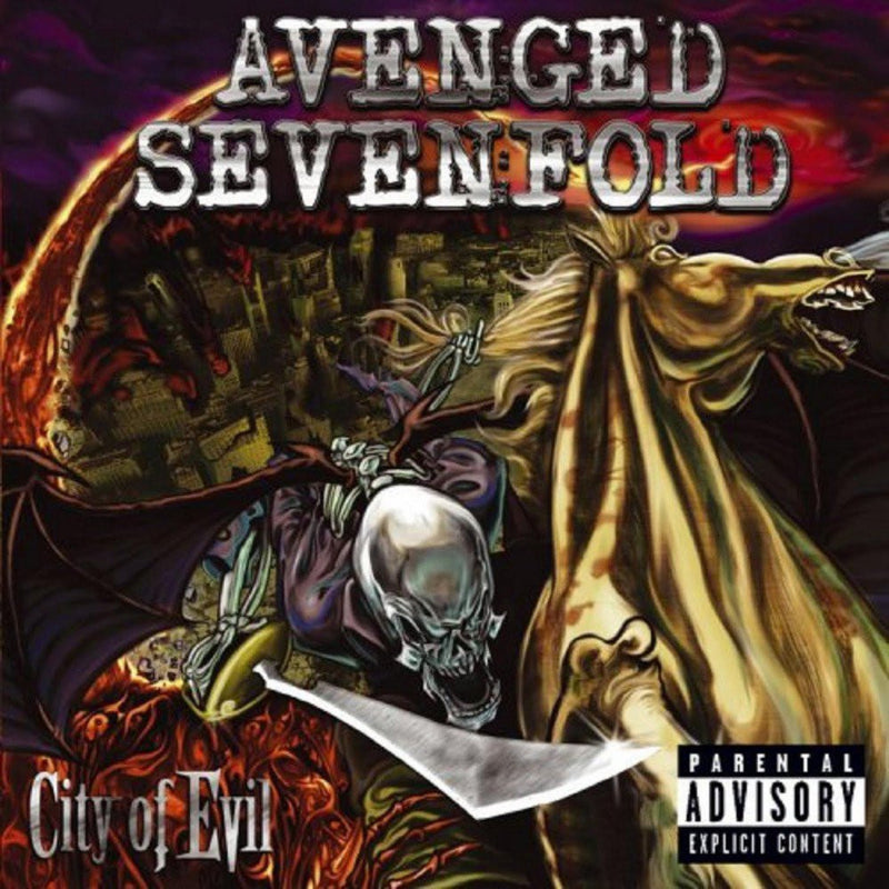 Avenged Sevenfold - City Of Evil CD