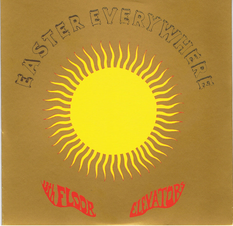 13th Floor Elevators - Easter Everywhere LP Gold Vinyl