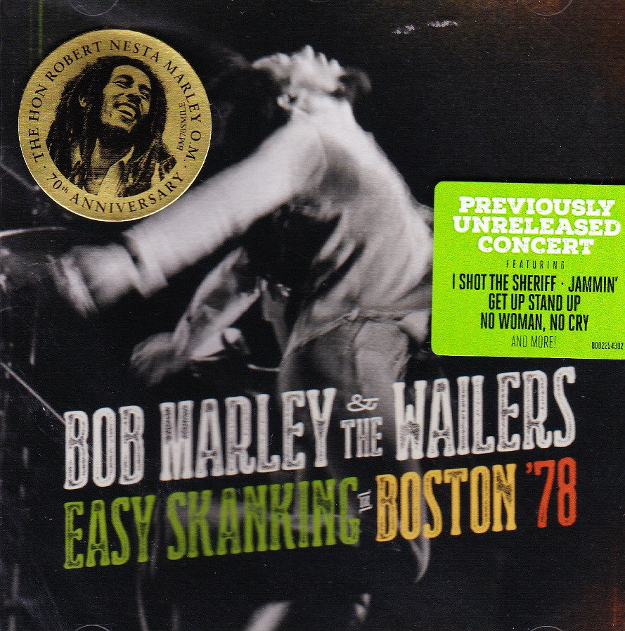 Bob Marley - Easy Skanking In Boston '78 2LP