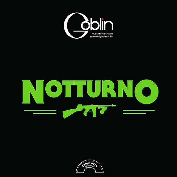 Goblin - Notturno LP Green Coloured RSD Exclusive