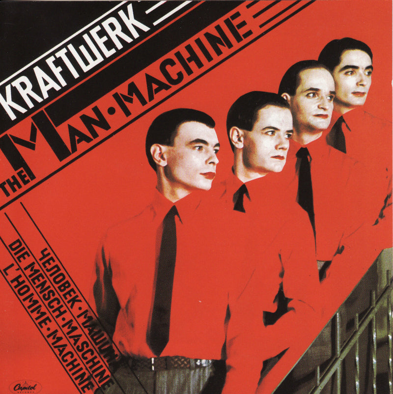 Kraftwerk man machine